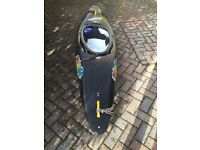 Pyranha Kayak [Acrobat 270 and Kayak Gear - incl paddle and neoprene spraydeck]