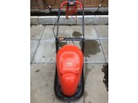 Flymo Easi Glide 300, electric lawn mower. 1yr old, very good, clean, fully working condition