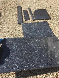 Granite pieces