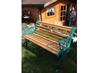 Handmade solid oak benches