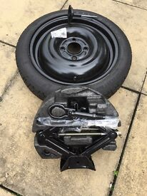 """Ford Fiesta 15"""" space saver spare wheel kit from 2012 to 2014"""