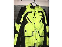 IXS Starlight Motorcycle Jacket -Yellow- RRP 169.00