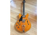 ARIA PRO TA 70 SEMI LEFT HAND KOREAN MADE NOT CHINA EXCELLENT CONDITION