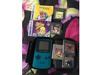 Nintendo gameboy colour &5 games