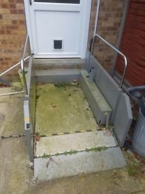 Wheelchair stair lift