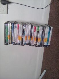 28 various pc games for sale £30 ono