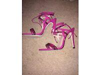 Pink carvela Kurt Geiger heels