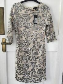 New Look embellished dress, size 12