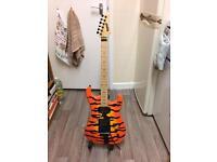 Kramer pacer vintage tiger stripes guitar