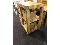 New kitchen wooden island