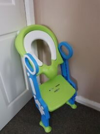 Childs Toilet Training Step/Seat