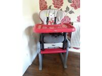 Highchair 3 in 1 by Jane