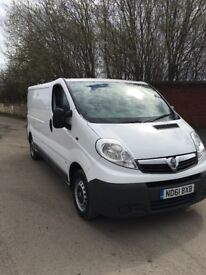 2011 61 Vauxhall vivaro 2900 2.0cdti 113 lwb 6speed 2 owners from new an with service history
