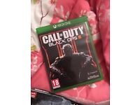 Xbox one game with the black ops 3 case.