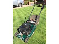Hayter Harrier 41 petrol lawnmower - with owners manual. Good runner