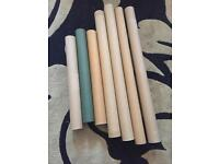 Job Lot Of 7 Used Poster Tubes To Reuse