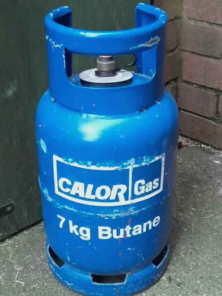 SOLD Calor gas bottle 7kg empty   in Uttoxeter ...