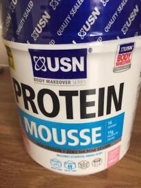 USN strawberry cream mousse