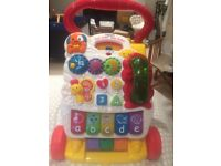 VTECH BABY WALKER- with GREEN PHONE