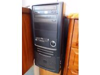 """High spec Windows XP PC complete system with wifi, 17"""" monitor, mouse and keyboard"""