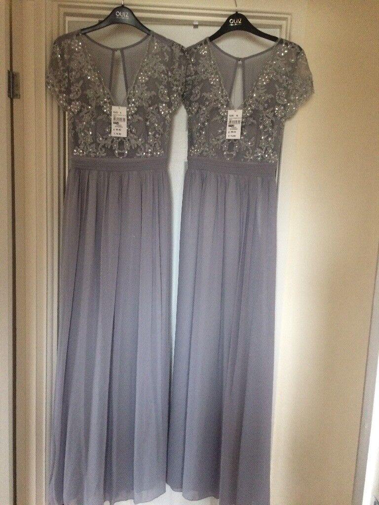 2 bridesmaids dresses £50 each