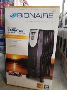 Bionaire BOF3001-CN Oil Filled Digital Radiator, Black
