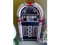 Juke box stero cd usb and aux player