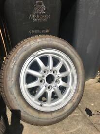 Bmw e36 genuine spare wheel