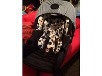 BABY WEAVERS BABY CAR SEAT