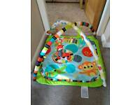 Bright starts activity baby play gym