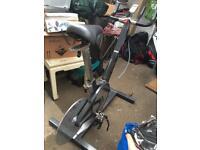 Keiser M3 spin exercise bike
