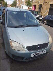Ford Focus C MAX 1.8 Light Green 2004