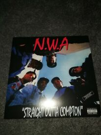 NWA Straight Outta Compton Limited Edition Red vinyl lp