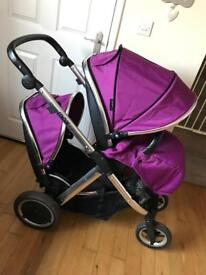 Oyster Max 2 tandem double Pushchair
