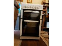 Slimline electric fan assisted double oven