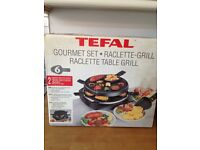 Tefal Raclette Table Grill, Pristine Condition £20.00 + £5.95 postage