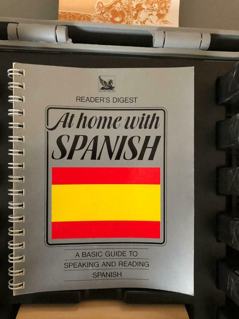 Readers digest teach yourself Spanish audio tapes | in Newcastle, Tyne and  Wear | Gumtree