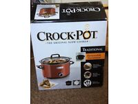 Crockpot 3.5 litres. New and boxed.