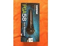 PGA58 Shure Microphone