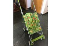 Mothercare jungle stroller in immaculate condition