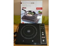 Single plate, table top, induction hob, never used. Perfect for small flat or caravan.