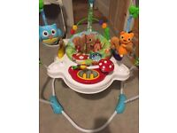 Nuby Jump N Jive Baby Activity Station & Jumper, Brand New