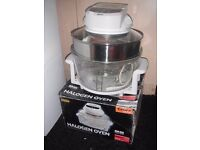 DELTA KITCHEN HALOGEN OVEN COOKER WHITE 1400 WATT ENERGY SAVER - USED JUST ONCE BOXED # 57212 CO2013