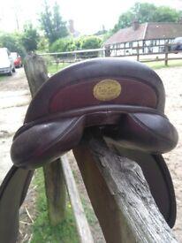 Jeffries show saddle