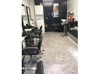 Hairdressing salon fully fitted