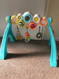 Baby activity musical gym