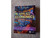 Applied Economics Edited by Alan Griffiths & Stuart Wall book