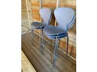 Bar Stools x 5 £125 or £30 each. *commercial quality* Stackable, Expensive (see description)