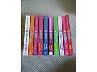 10x Dork diaries books