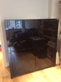 Calligaris Black Glossy Sideboard - Excellent Condition